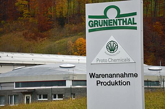 Grünenthal Pharma, Mitlödi