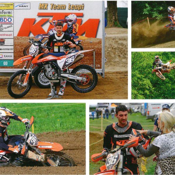 Sponsoring Motocrossfahrer Marcel Leupi