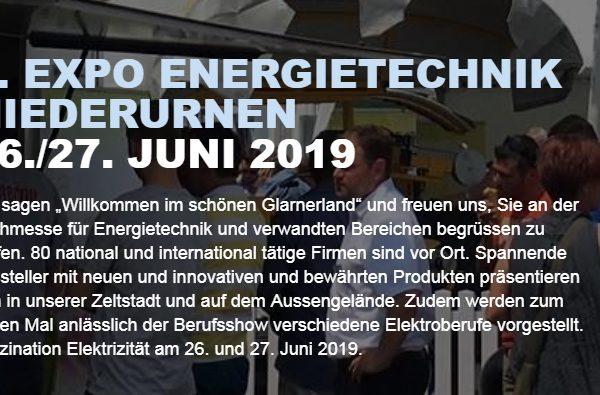 EXPO Energietechnik Niederurnen